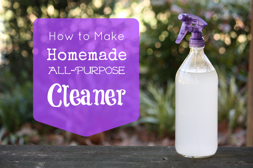 Homemade all-purpose cleaner - Cleaning