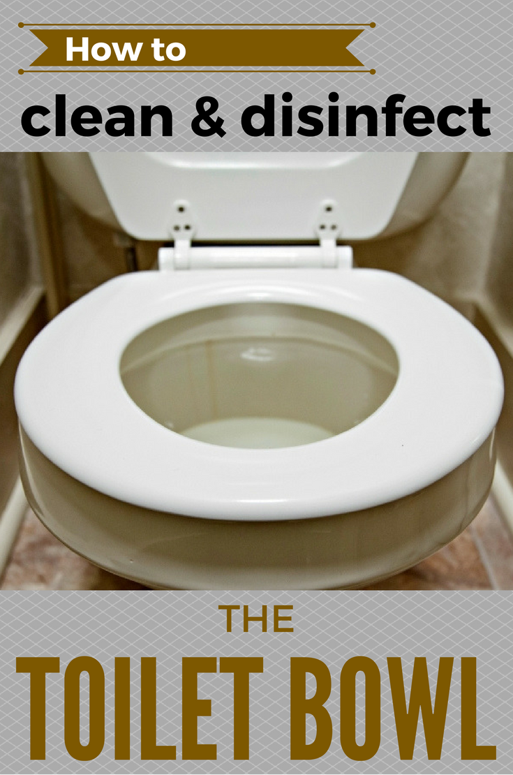 How To Clean And Disinfect The Toilet Bowl Cleaning