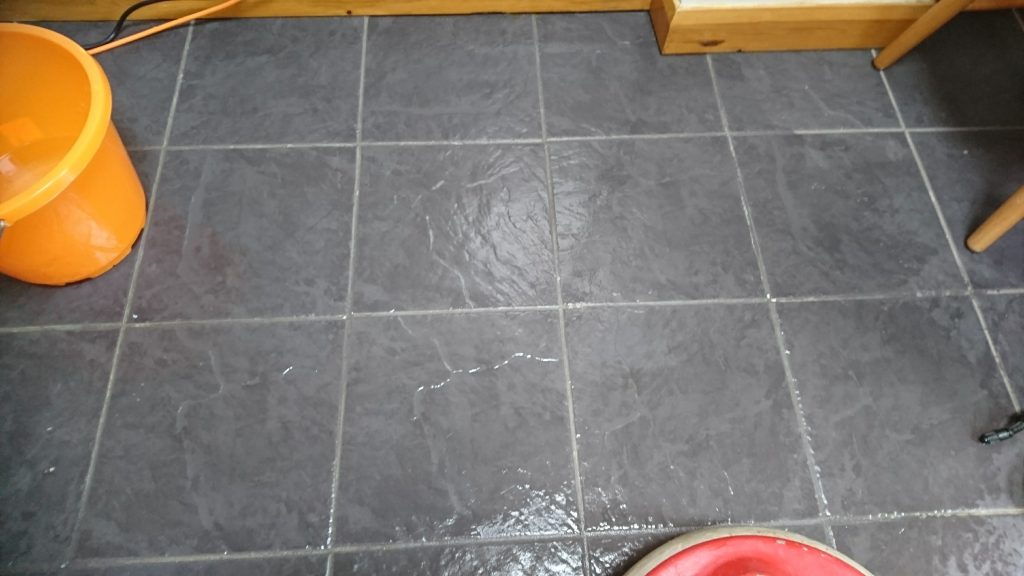 How To Make Your Dirty Slate Floors Look Like New